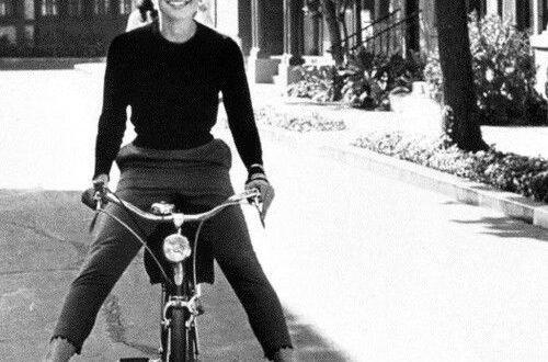 andare in bici