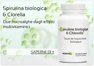 Spirulina biologica & Clorella