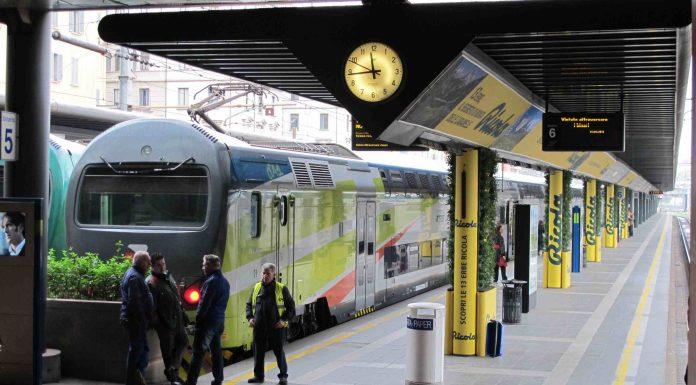 Ricola giardino verticale stazione Cadorna Milano